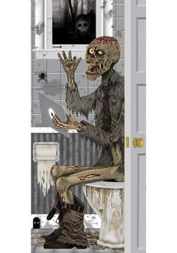 Zombie Toilet Door Cover