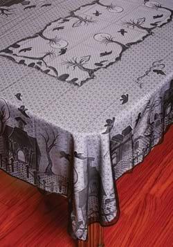 Haunted House Lace Tablecloth