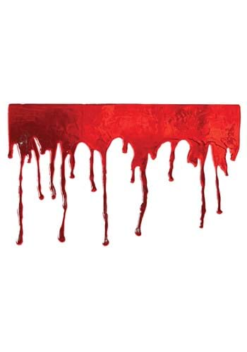 Drips of Blood Window Cling