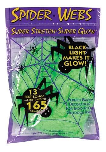 50 Gram Cosmic Black Light Super Stretch Web