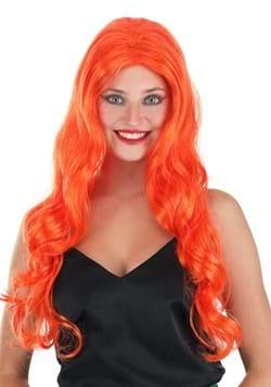 St. Patrick's Day Orange Wig