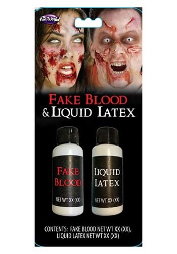 1 oz Blood Liquid Latex Duo