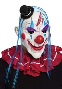 Red and Blue Evil Clown Adult Mask update