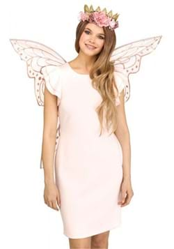 Rose Gold Fairy Sparkle Wings