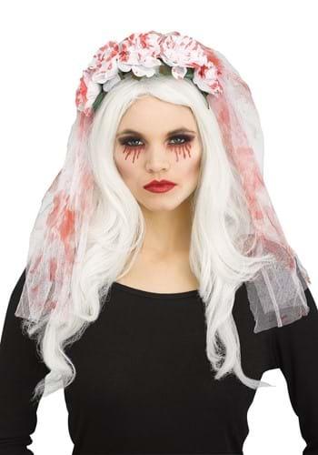 Bloody White Bridal Veil