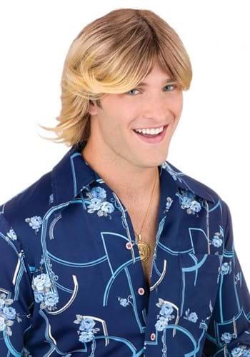 Blonde Shaggy Ladies Man Wig