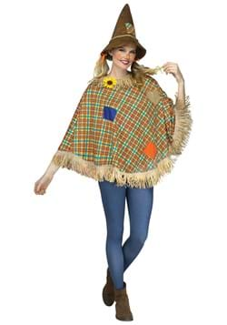 Sweet Scarecrow Adult Poncho