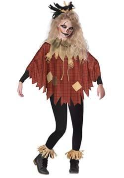Scary Scarecrow Child Poncho