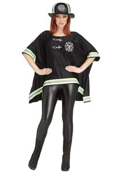 Womens Firefighter Poncho