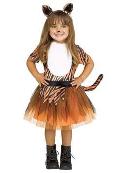 Toddler Girls Tutu Tiger Costume