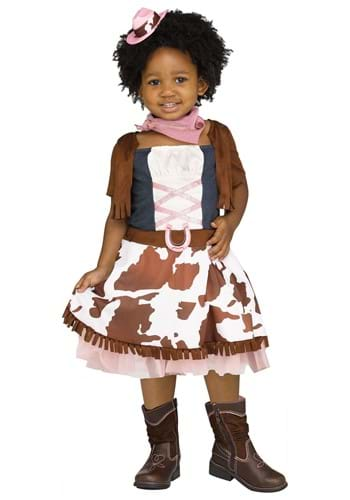 Toddler Rodeo Cowgirl Costume