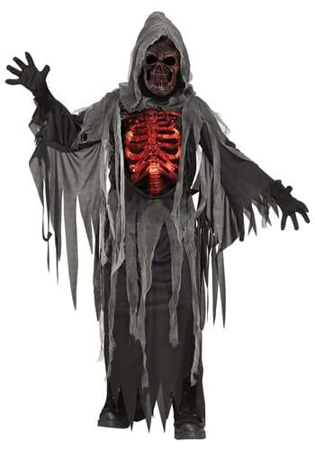Kids Smoldering Reaper Costume