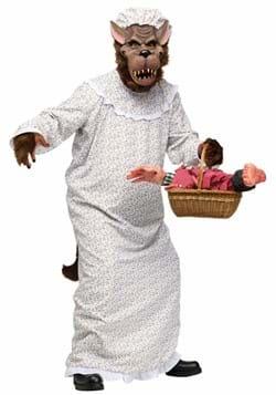 Child Big Bad Granny Wolf Costume