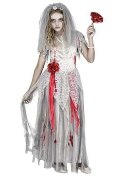 Girls Zombie Bride Costume