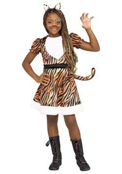 Girls Tigerrr Cotume