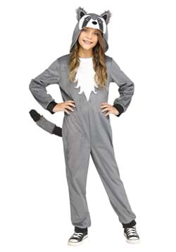 Girls Cute Raccoon Costume