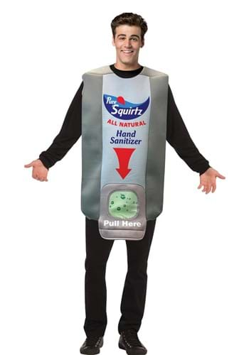 Hand Sanitizer Wall Dispenser Adult Costume