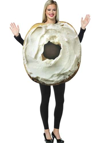 Adult Bagel with Cream Cheese Costume
