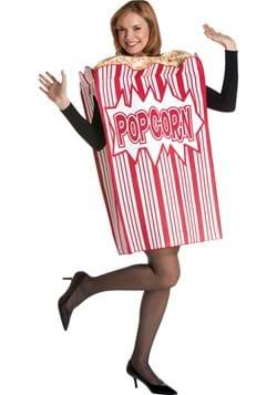 Movie Night Popcorn Adult Costume