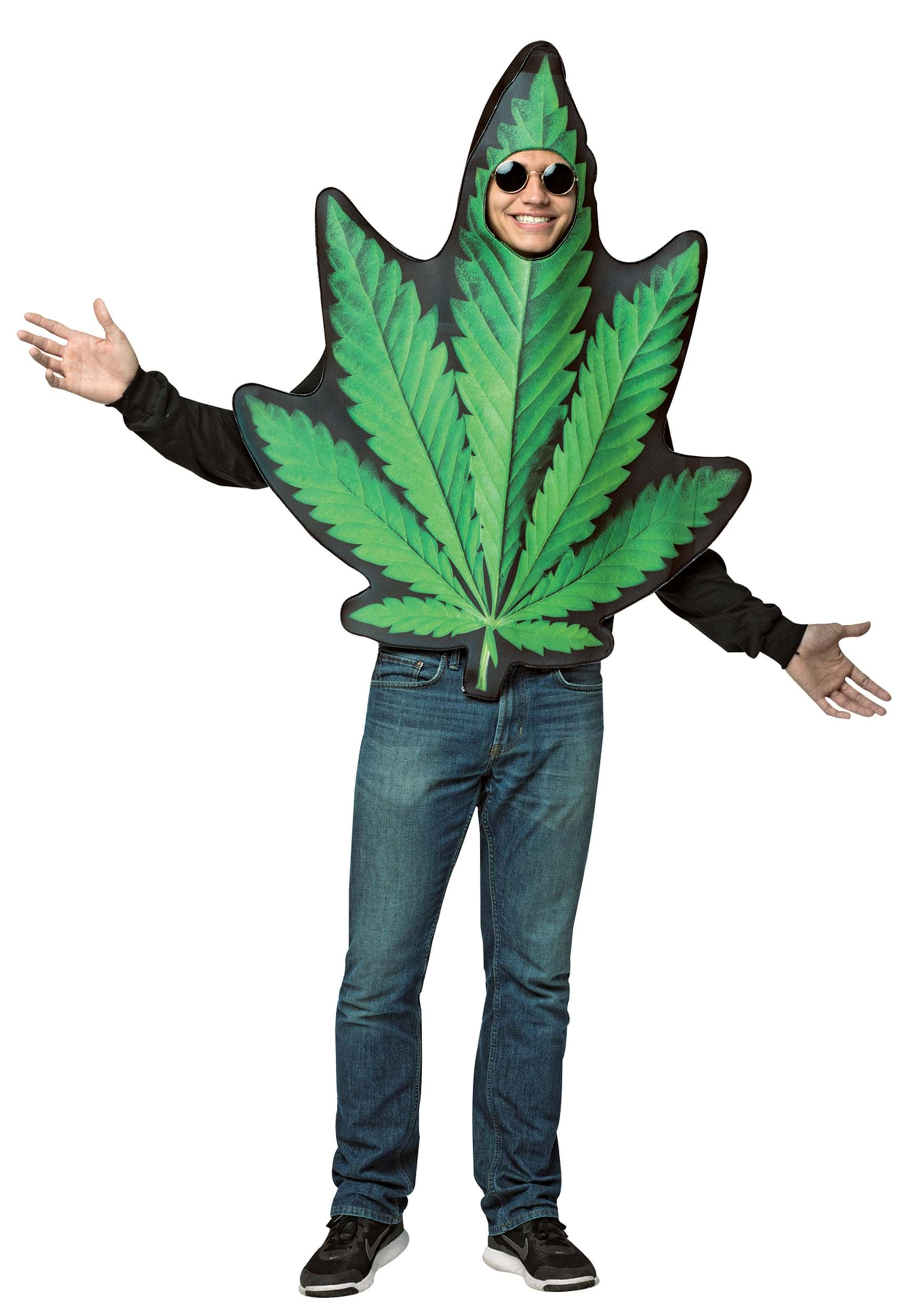 Pot Leaf Costume for Adults