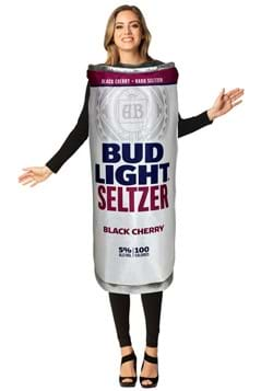 Adult Bud Light Black Cherry Seltzer Can Costume