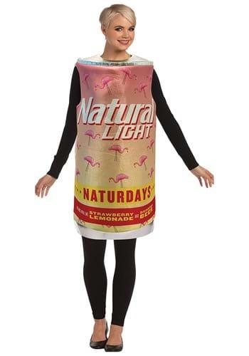 Adult Natural Light Naturdays Can Costume