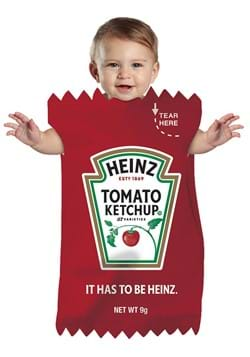 Heinz Ketchup Packet Infant Bunting Costume