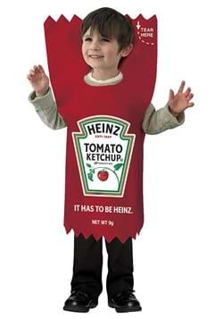 Heinz Ketchup Packet Kids Costume
