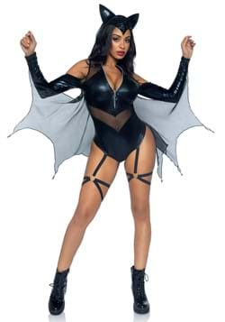 Sexy Midnight Bat Womens Costume UPD