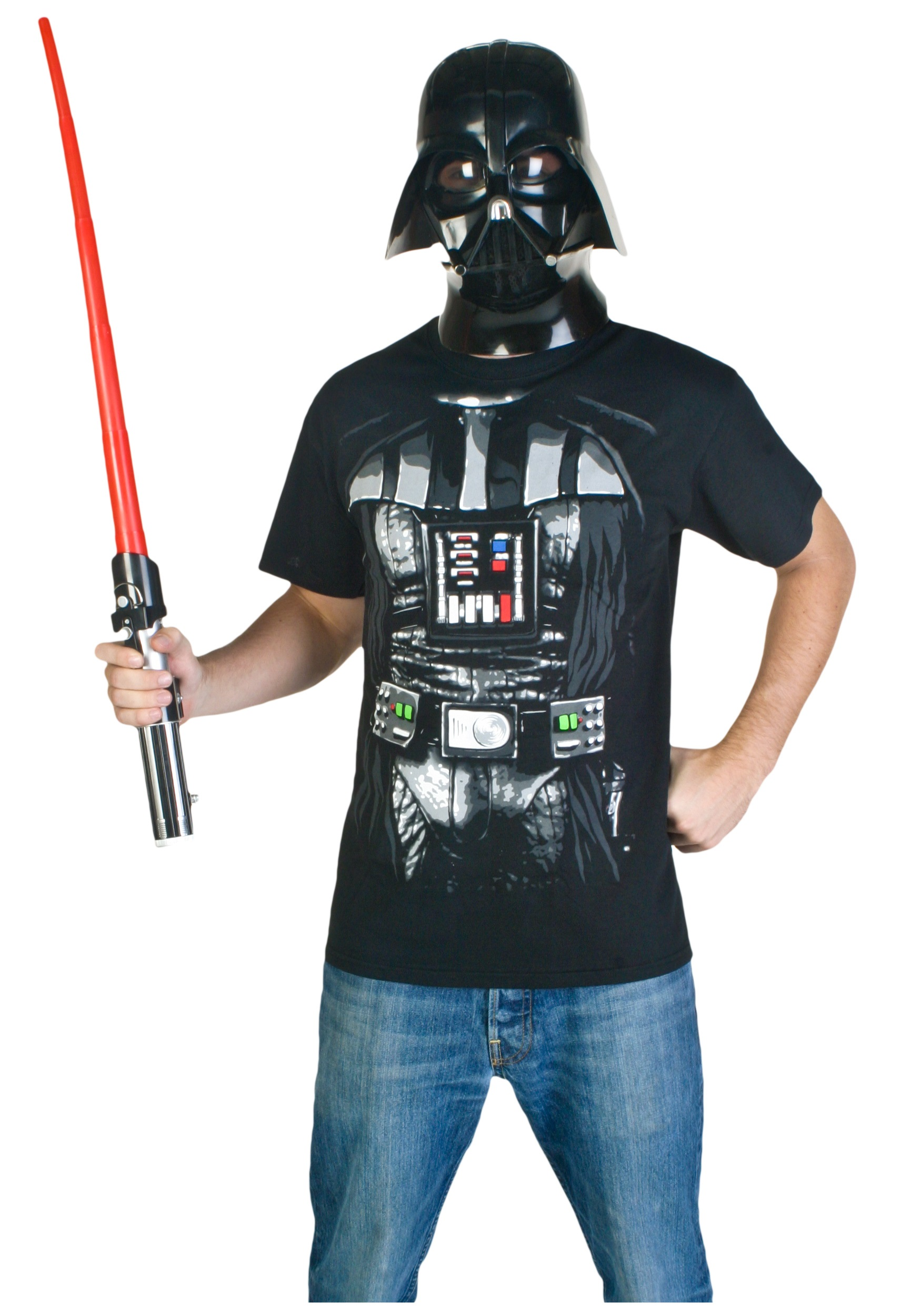 darth vader costume t shirt. Black Bedroom Furniture Sets. Home Design Ideas