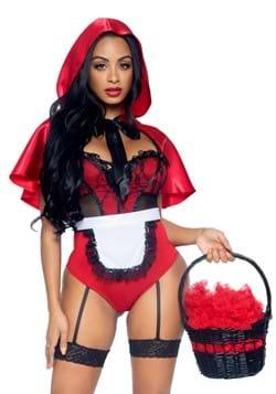 Sexy Naughty Miss Red Women's Costume