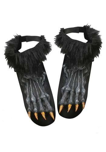 Black Werewolf Shoe Covers