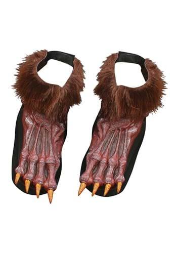 Brown Werewolf Shoe Covers