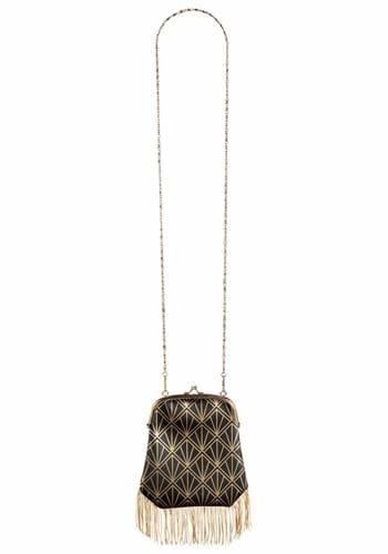 1920's Flapper Handbag with Chain