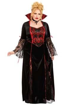 Womens Plus Vampira Adult Costume