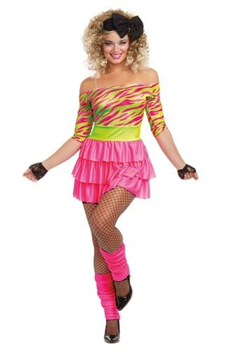 Womens 80s Party Adult Costume
