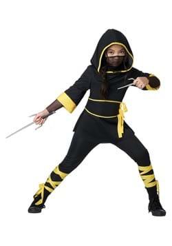 Girl's Lightning Ninja Costume