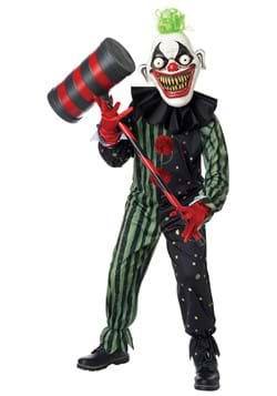 Boy's Crazy Eyed Clown Child Costume