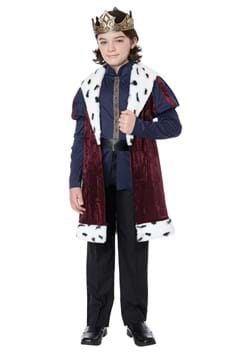 Boy's Noble Kindhearted King Costume