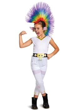 Trolls Barb Rainbow Classic w/Wig Costume