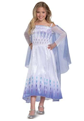 Frozen Snow Queen Elsa Deluxe Costume for Kids