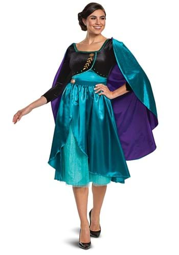 Frozen Queen Anna Deluxe Costume for Women