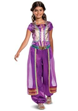 Aladdin Live Action Child Jasmine Purple Classic Costume
