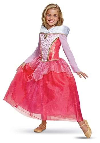 Sleeping Beauty Aurora Deluxe Girls Costume