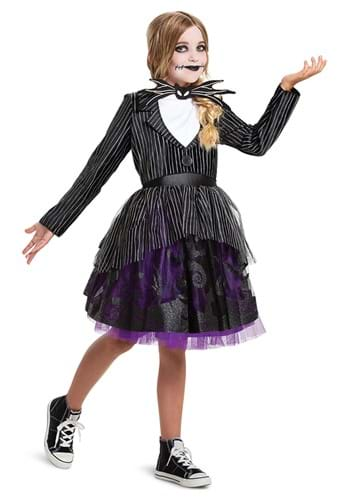 Nightmare Before Christmas Girls Jack Skellington Costume