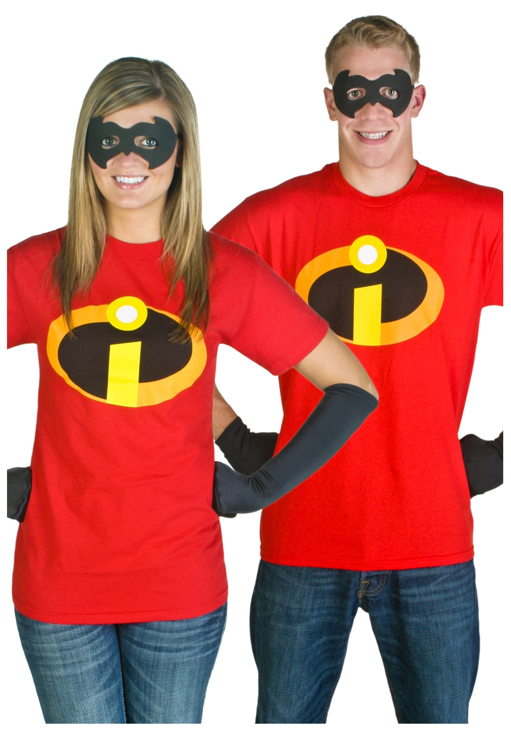 Adult Incredibles T-Shirt Costume  sc 1 st  Halloween Costumes : incredibles family costume  - Germanpascual.Com