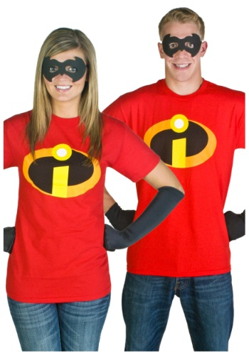 Adult Incredibles T-Shirt Costume - Disney Incredibles Costumes By: Mad Engine for the 2015 Costume season.