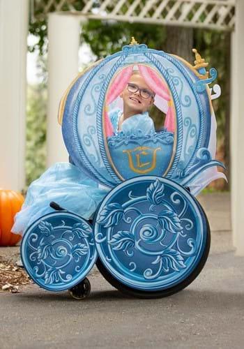 Disney Princess Carriage Adaptive Wheelchair Cover Costume-u