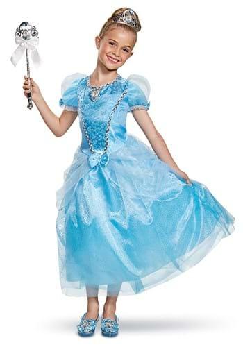 Cinderella Deluxe Kids Costume