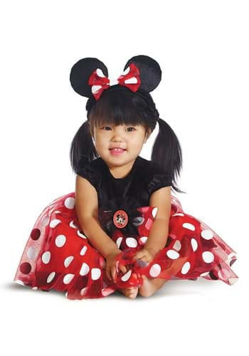 Infant Deluxe Red Minnie Mouse Costume
